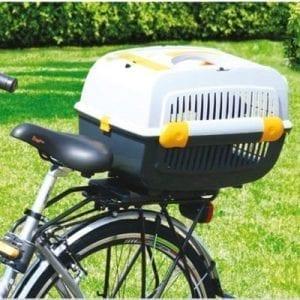 Fahrrad Tiertransporter auf Rad