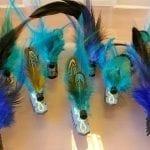 Federkäfer blau