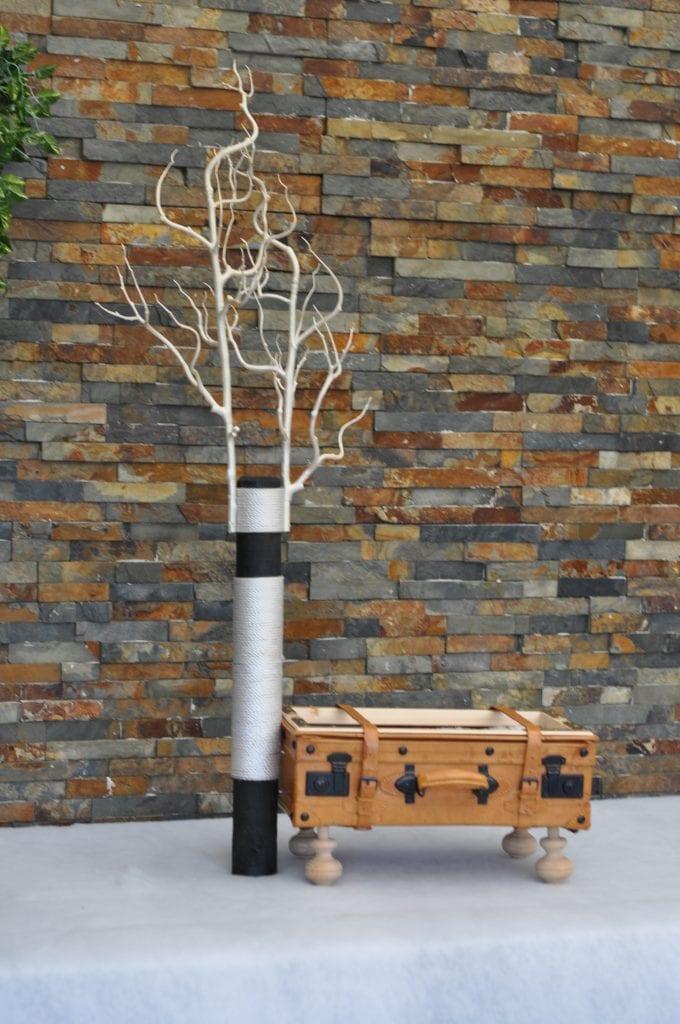 Unikat Kratzbaum Koffer