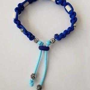EM Keramik-Halsband blau