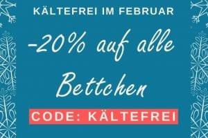 Februar-Aktion Bettchen 2020